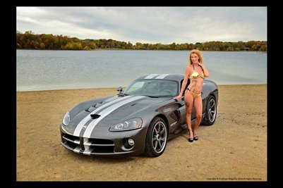 Model Shawna Roberts with Viper 2