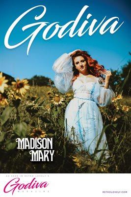 GODIVA No.22 – Madison Mary Cover Poster
