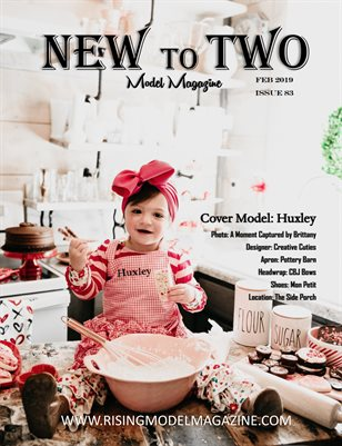 New To Two Model Magazine Issue #83