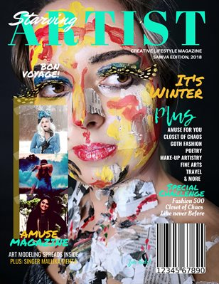 Starving Artist Magazine, Winter 2019