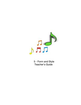 5-Form&Style / Teacher's Guide