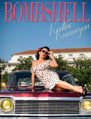 BOMBSHELL Magazine August 2018 - BOOK 2 - Kristine Kumuryan Cover