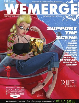 WeMerge Magazine Issue 4 - JR Linton