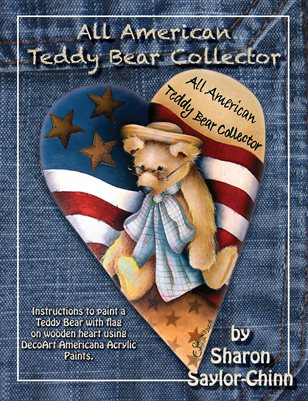 All American Teddy Collector Painting Pattern