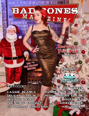 Bad Bones Magazine #7 holiday Edition