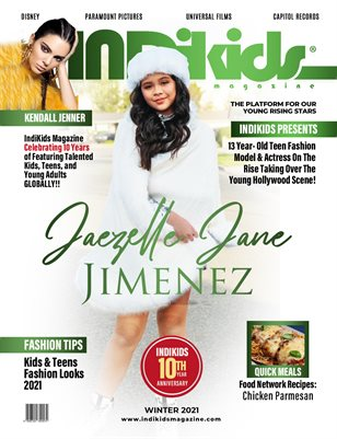 IDK WINTER 2021 ISSUE JAEZELLE COVER