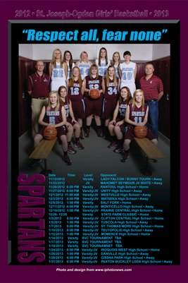 SJO 2012-13 Basketball Schedule