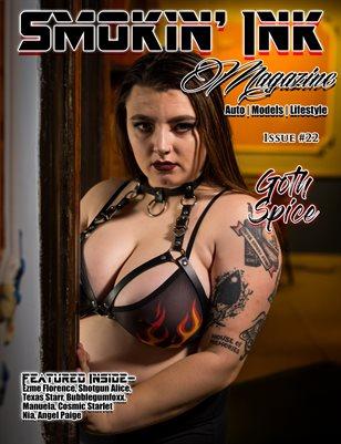 Smokin' Ink Magazine Issue #22 - Gothspice