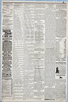 (Pages 3-4) Mayfield Monitor, MARCH 29,1879