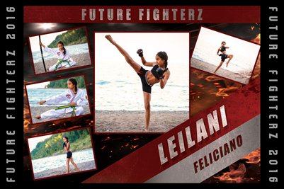 2016 Lelilani Feliciano Cal - Poster