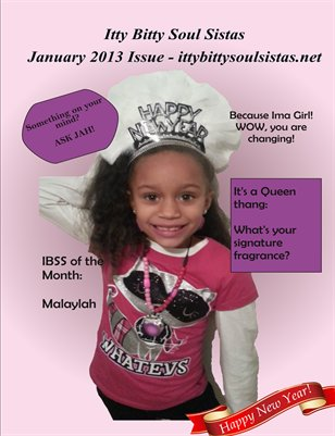 Itty Bitty Soul Sistas January 2013 Issue