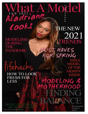 What A Model Magazine Jan 2021 Aladriane