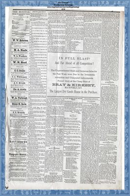 (PAGES 3-4) APRIL 3, 1880 MAYFIELD MONITOR
