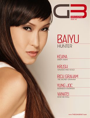 G3 Magazine Issue 40 (Baiyu Cover)