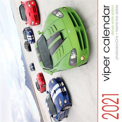 2021 Viper Calendar - Deluxe White Edition