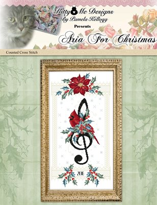 Aria For Christmas Counted Cross Stitch Pattern