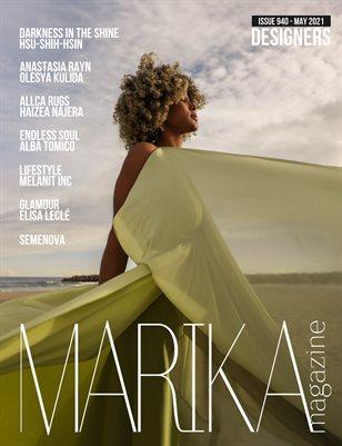 MARIKA MAGAZINE DESIGNERS (ISSUE 940 - MAY)