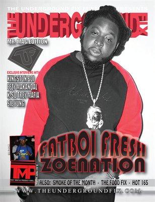 The Underground Fix Magazine 'Mr. Mag Edition'