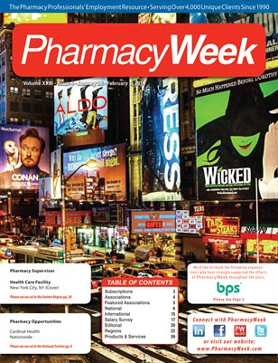 Pharmacy Week, Volume XXIII - Issue 4 - January 26 - February 1, 2014