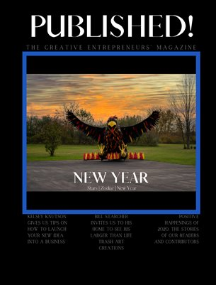 PUBLISHED! The Creative Entrepreneurs' Magazine