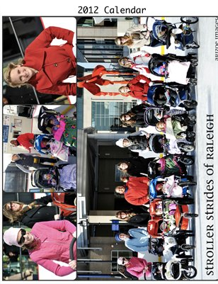 Stroller Strides of Raleigh 2012 Calendar