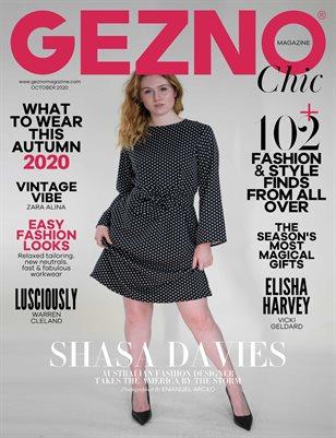 GEZNO Magazine October 2020 Issue #07