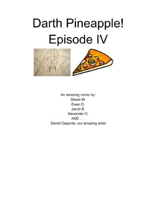 Darth Pineapple: Issue 1