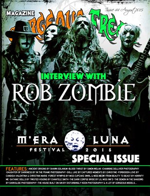 Issue 44 Mera Luna Special COVER BAND: ROB ZOMBIE