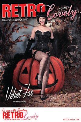 Velvet Fox Cover Poster