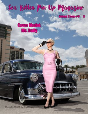 Sex Kitten Pin Up Magazine B Cover Ms. Dolly August 2019 Issue