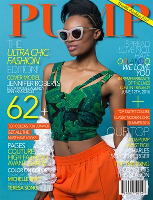 PUMP Magazine Ultra Chic Fashion Edition Issue 76