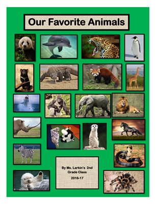 Larkin's Class Our Favorite Animals Magazine