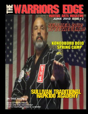 THE WARRIORS EDGE MARTIAL ARTS MAGAZINE issue 2