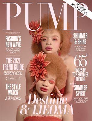 PUMP Magazine | The Ultimate Fashion Edition | Vol.1 | June 2021