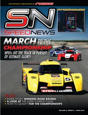 NASA Speed News June Issue 2016