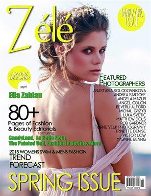 ZéléMagazine_MAR/APR 2015 SPRING Issue (COVER2)