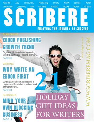 Scribere Magazine Dec 2012- Jan 2013