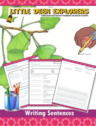 Little Deen Explorers - Sentence Worksheets