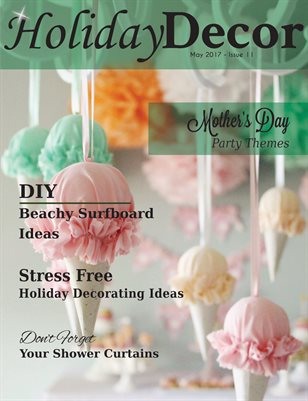 Holiday Decor Magazine - May 2017