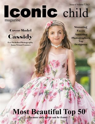 Iconic Child Magazine Most Beautiful Top 50 Issue Spring 2021