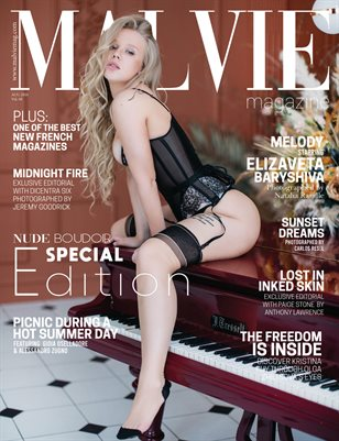 MALVIE Mag | NUDE & Boudoir Vol. 08 | August 2020