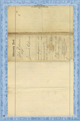 (PAGES 1-2) 1876 Deed, O'Coners to O'Coners, Miami County, Ohio