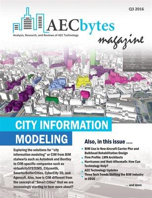 AECbytes Magazine Q3 2016