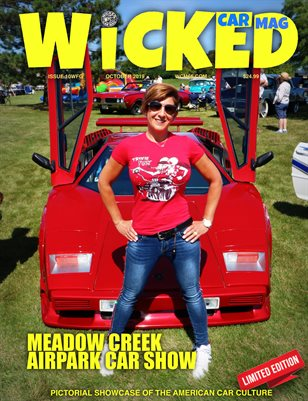 WICKED CAR MAG - MEADOW CREEK AIRPARK CAR SHOW