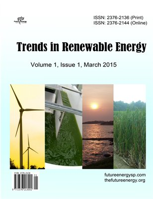 Trends in Renewable Energy volume 1 issue 1 2015