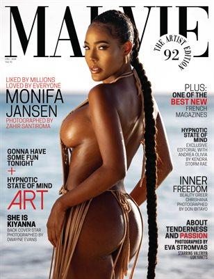 MALVIE Mag The Artist Edition Vol 92 December 2020