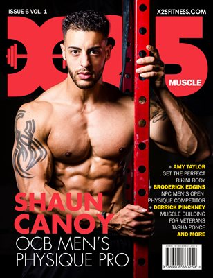 X25 Fitness Issue 6 -Shaun Canoy