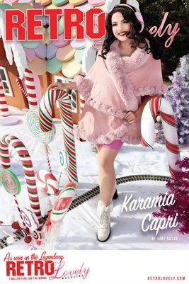 Karamia Capri Cover Poster Holidays 2020