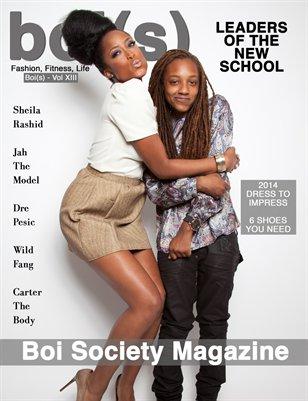 Boi(s) Magazine - Sheila Rashid Cover