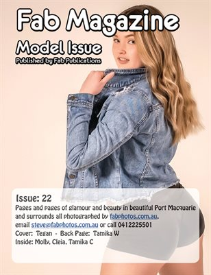 Fab Magazine Model Issue 22